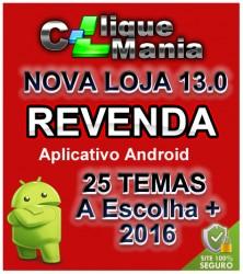 Loja Virtual v13 Revenda com Aplicativo Android Grátis