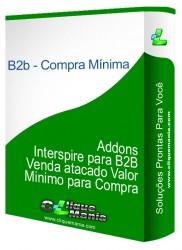 Addons Interspire para B2B Venda atacado Valor Minimo para Compra