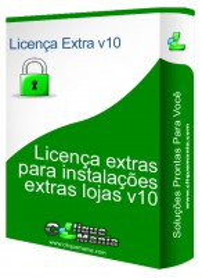 Licença extra V10