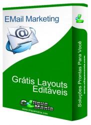 Layouts editaveis para Envio de emails