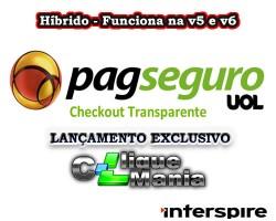Modulo Pagamento Checkout Transparente Lojas Interspire