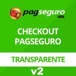 Modulo Pagamento Pagseguro Checkout Transparente V2 Lojas Interspire