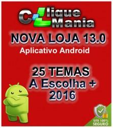 Loja Virtual v13 com Aplicativo Android Grátis